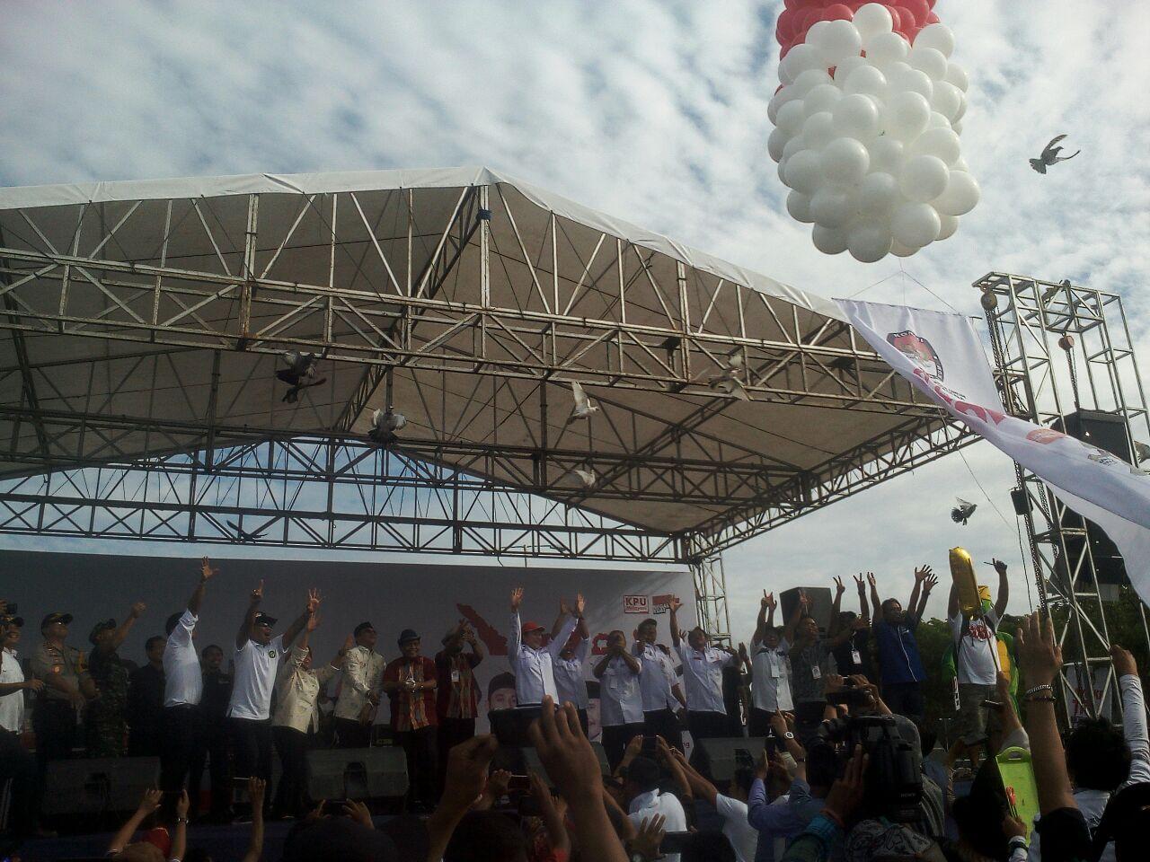 Kampanye damai Pilkada Donggala