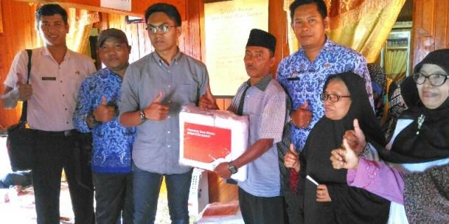 Kementerian Pariwisata (Kemenpar) RI memberikan bantuan berupa paket stimulan bagi penginapan yang ada di Kawasan Saribu Rumah Gadang (SRG), Kabupaten Solok Selatan.
