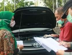 BAPD Pasbar Lakukan Pengecekan Kendaraan Milik Pemda
