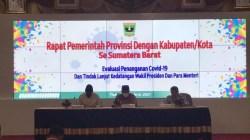 Wako Solok Hadiri Rapat Pemerintah Provinsi dengan Kabupaten/Kota