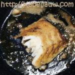 Kabeljauwhaasje bakken
