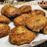 3 ingrediënten snack: lekker makkelijke Indische Viskoekjes