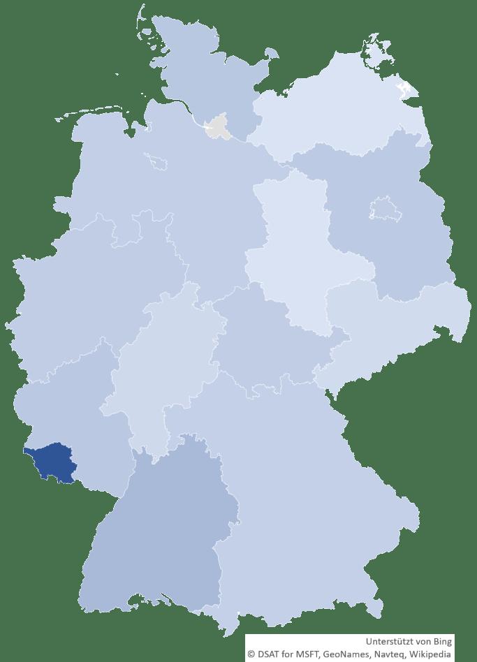 Kabel Organizer nach Bundesländern pro Tausend Einwohner