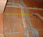 Cables laying