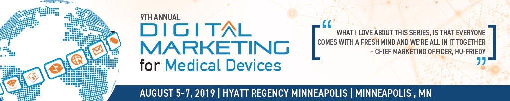 Digital marketing for medical devices
