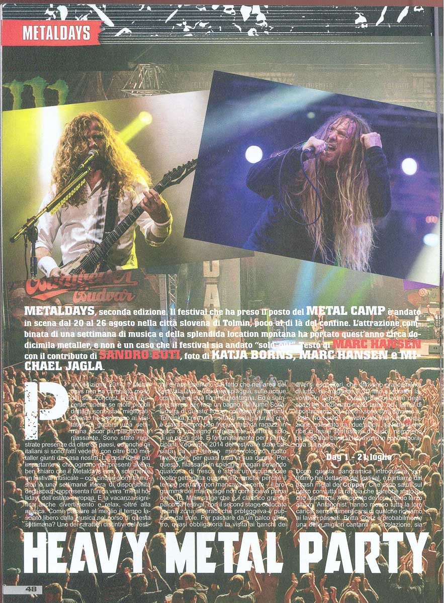 Metal Maniac IT - Sept2014 - Festivalbericht1
