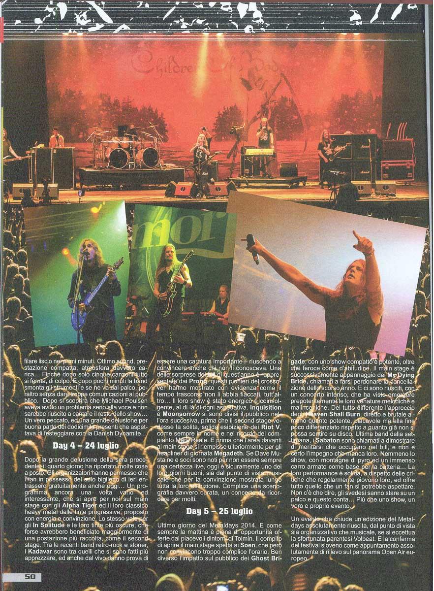 Metal Maniac IT - Sept2014 - Festivalbericht3