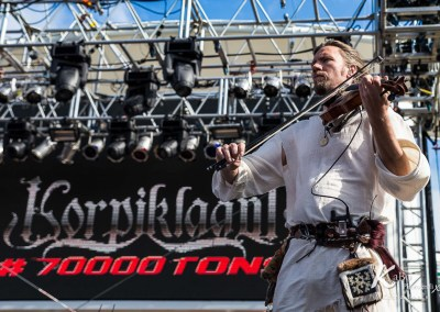 KORPIKLAANI – 70000 tons of Metal 2015