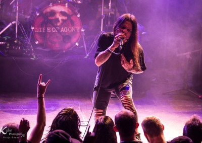 LIFE OF AGONY – Musikzentrum Hannover 06.11.2019