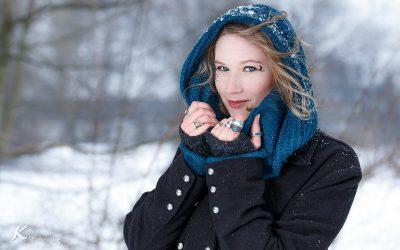 Schnee Shooting mit Nahtúl