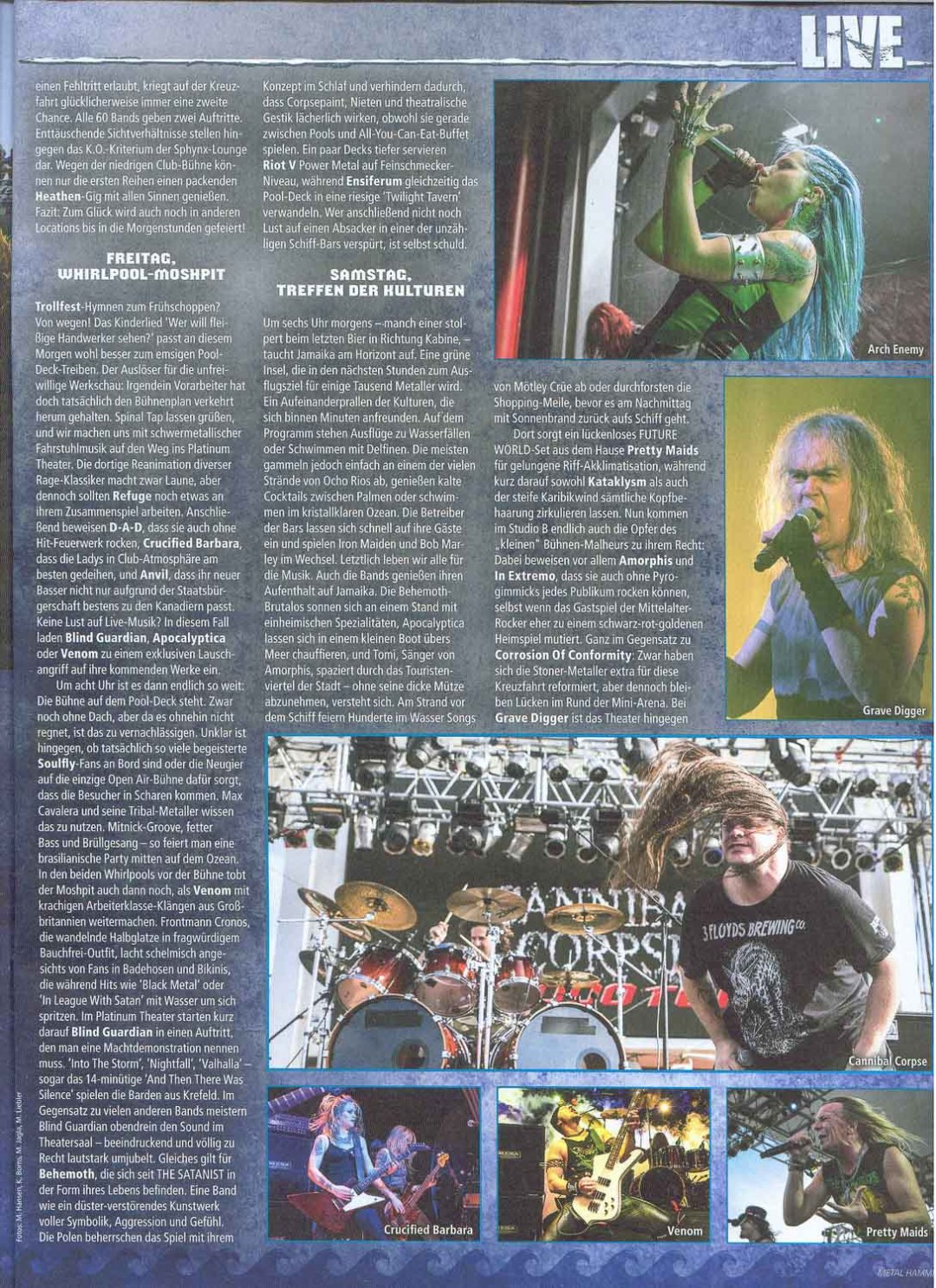 Metal Hammer - March2015 - Story2