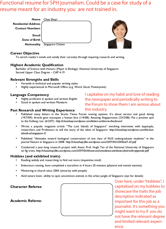 Resume Sample Resume At Jobstreet resume jobstreet template jobstreet