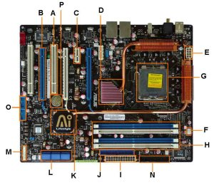Simple Motherboard With Label