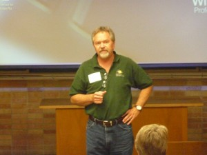 Bob Gress talking about the Great Plains Nature Center