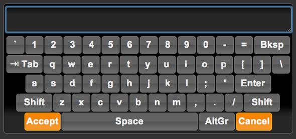 teclado virtual jQuery