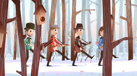 Vista previa de Up in the Sky, corto de animación