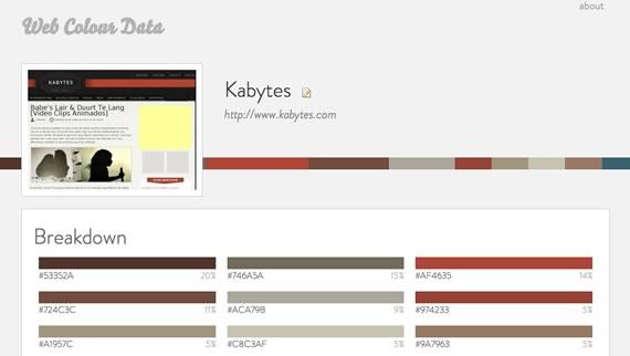 extraer colores de un sitio web