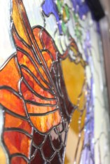 stained glass fish-1