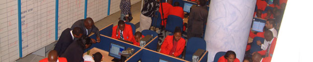 Trading on the NSE Floor