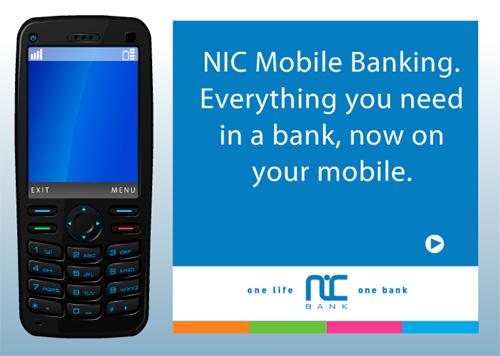 NIC mobile banking