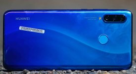 The Huawei P30 Lite Back