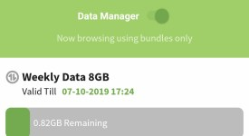 Faiba 4G data manager