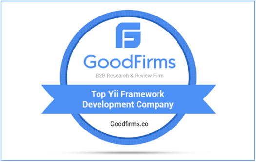 Steps Up as Top Yii Framework Development Company at GoodFirms