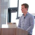 Felix Arntz presenting at LoopConf 2018