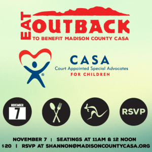 Eat Outback for CASA!