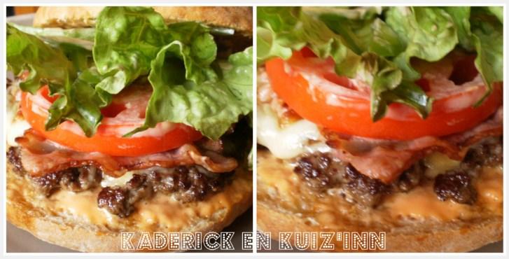 Dreck burger - Recette de l'hamburger de boeuf Maison avec une sauce mayonnaise et du ketchup bio