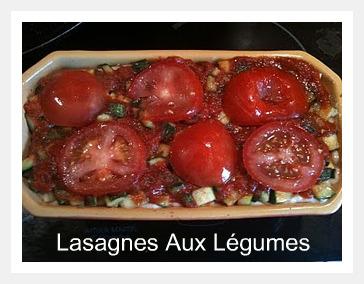 Lasagnes aux légumes bio