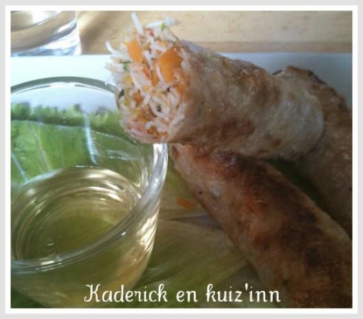 Nem - crevette - cuisine asiatique