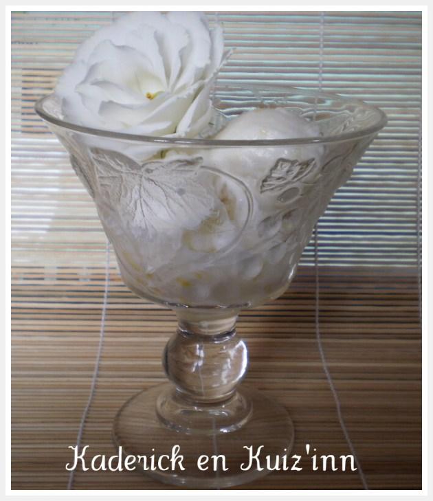 Recette sorbet au citron avec des zestes de citron bio sur ©Kaderick en Kuizinn