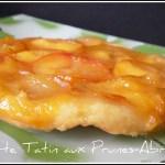 tarte tatin-les tartes-la prune-l'abricot