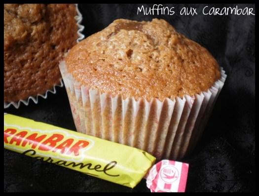 Recette-dessert- Muffins fraises ou aux carambar