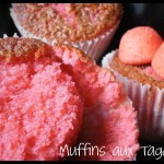 Recette de dessert - muffin aux fraises tagada ou au carambar
