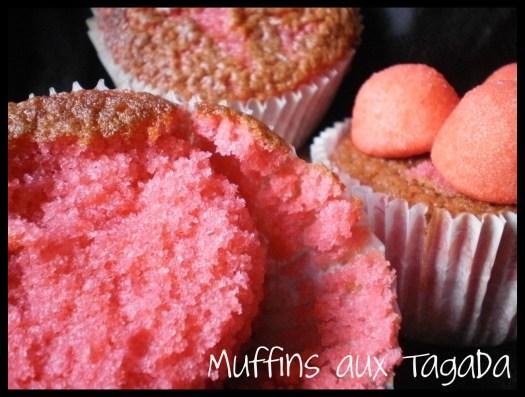 Recette-Muffins fraises tagada ou aux Carambar pour le dessert ou le goûter