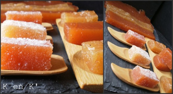 coing recette-desserts-pate de coing-fruit