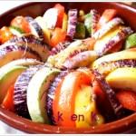 Recette du tian de légumes cuit dans un plat en terre, cuisine provençale