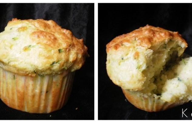 Recette des muffins aux courgettes bio pour une entrée ou en accompagnement