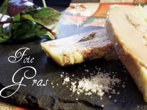 Recette Noël - Foie gras cuit au micro-ondes