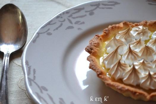 Recette tarte citron meringuée avec un lemond curd et une meringue italienne