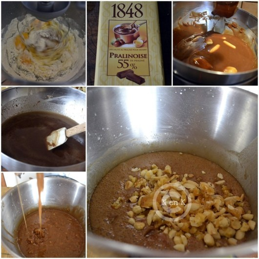 brownie gourmand -dessert-chocolat- recette