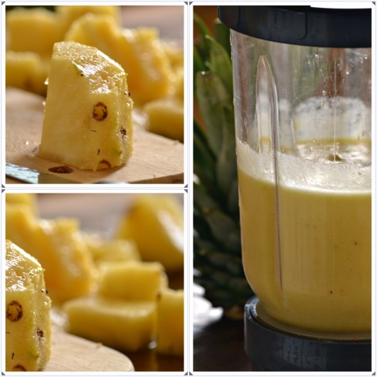 Recette du jus d'ananas pour mon 1er bento ©Kaderick en Kuizinn