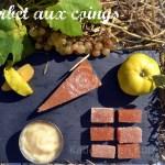 Recette du sorbet aux coings bio accompagné de pâte de coing