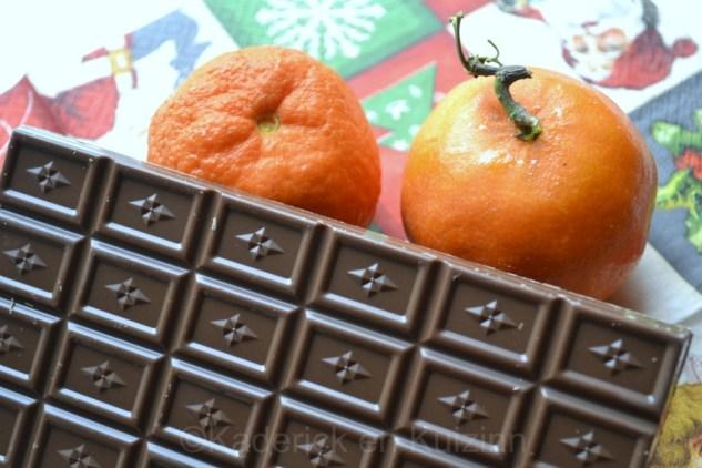Chocolat et clémentines de Noël pour le Projet 52