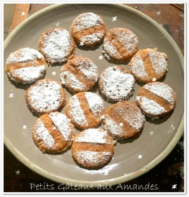 Recette des gâteaux aux amandes et zestes de citron