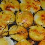 Recette des pommes de terre cuitent à la graisse façon Jamie Oliver