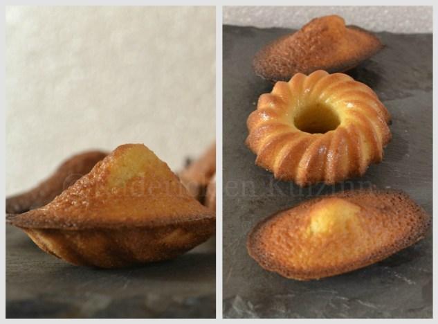 """Recette des madeleines tirées du livre """"petites gourmandises"""" des éditions Solar"""