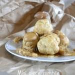 Recette de la Mini pièce montée avec crème de marron, marron glacés et nougatine pour Culino Versions